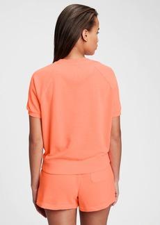 Gap Vintage Soft Raglan Short Sleeve Crewneck Sweatshirt