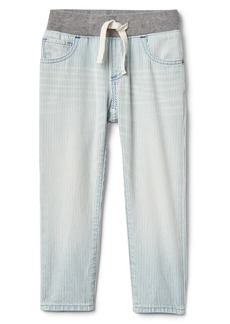 Gap Railroad Stripe Slim Jeans