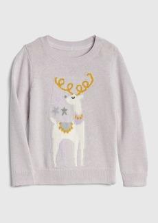 Gap Reindeer Crewneck Sweater
