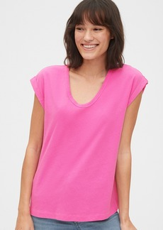 Gap Relaxed Scoopneck T-Shirt