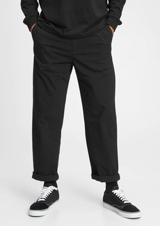 Relaxed Taper E-Waist Pants with GapFlex