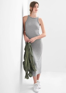 Gap Rib-knit racerback maxi dress