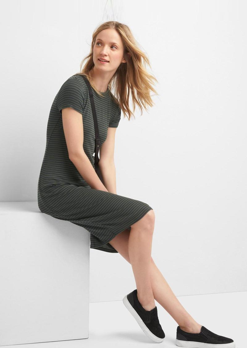 Gap Rib Knit T Shirt Dress Now 3997
