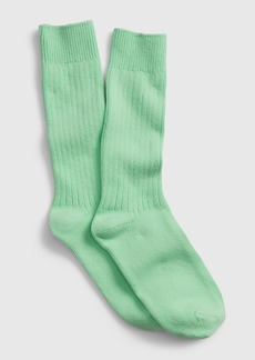 Gap Ribbed Crew Socks