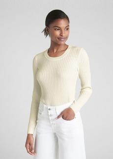 Gap Ribbed Crewneck Pullover Sweater