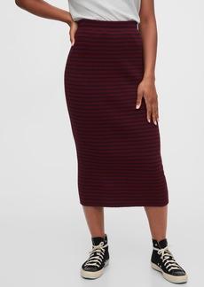 Gap Ribbed Pencil Skirt
