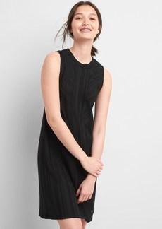 Ribbed Softspun Sleeveless Panel Dress