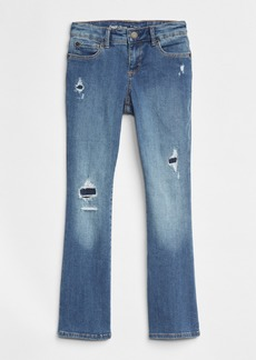 Gap Rip & Repair Boot Jeans with High Stretch