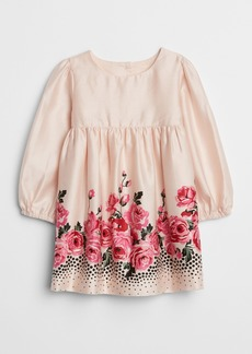 Gap Rose Cinched-Waist Dress