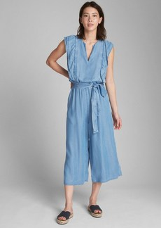 Gap Ruffle Sleeve Jumpsuit in TENCEL&#153