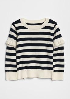 Gap Ruffle Stripe Sweater