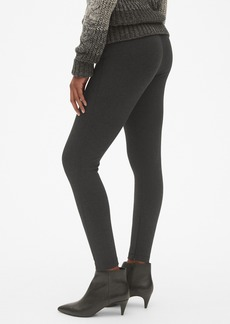 Gap Sculpt High Rise Ankle-Zip Leggings in Ponte