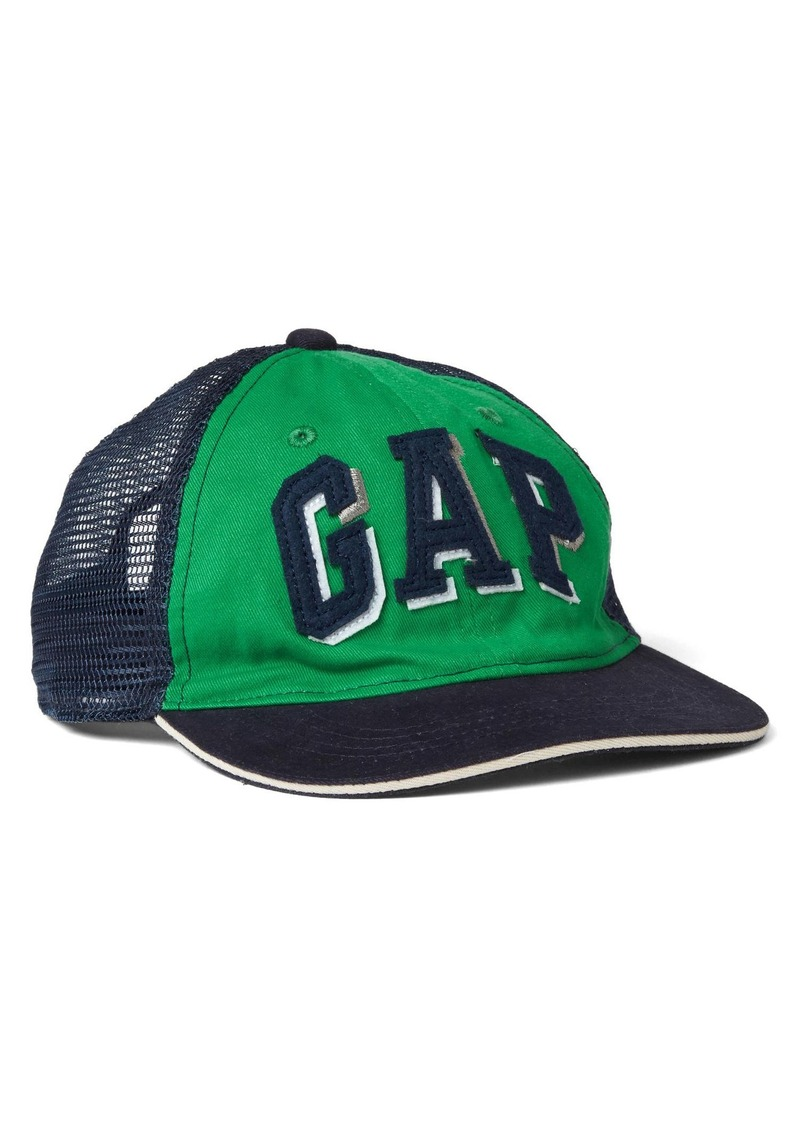On Sale today! Gap Shadow logo mix-fabric baseball hat 503286c5914
