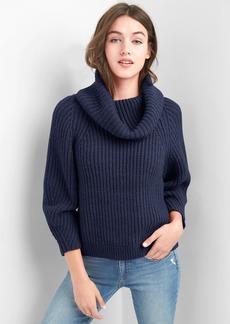 Gap Shaker stitch turtleneck sweater