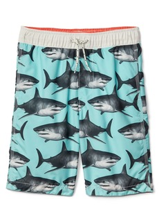 Gap Shark swim trunks