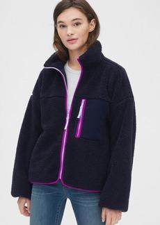Gap Sherpa Full-Zip Jacket