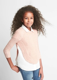 Gap Shimmer Cocoon Pullover Sweater