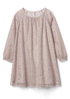 Gap Shimmer tulle shift dress