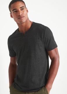 Gap Short Sleeve Notch T-Shirt