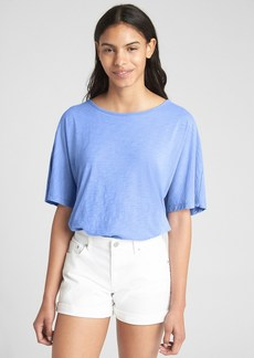 Gap Short Sleeve Open-Back T-Shirt