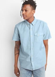Gap Short Sleeve Oxford Shirt