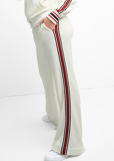 Side Stripe Wide-Leg Track Pants