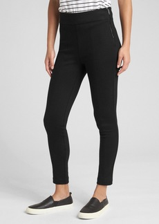 Gap Side-Zip Ponte Leggings