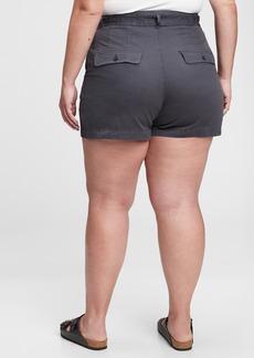 Gap Sky High Rise Paperbag Shorts