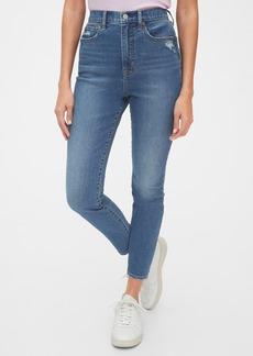 Gap Sky High True Skinny Ankle Jeans