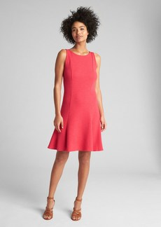 Gap Sleeveless Fluted Dress