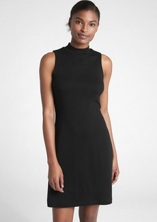 Gap Sleeveless Mockneck Midi Dress