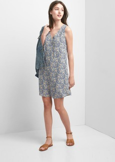 Gap Sleeveless shift dress