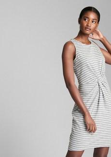 Gap Sleeveless Twist-Front Dress