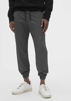 Slim Twill Joggers with GapFlex