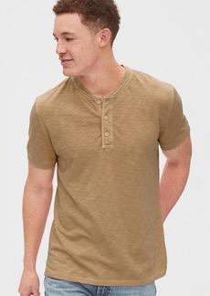 Gap Slub Henley T-Shirt