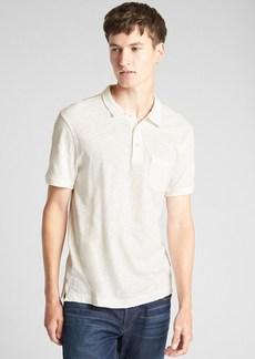 Gap Slub Jersey Polo Shirt