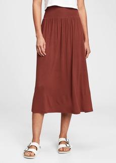 Gap Smocked Dress-Skirt
