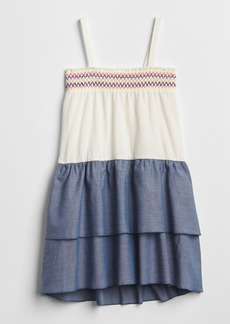Gap Smocked Tier Dress