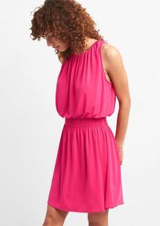 Smocked Waist Halter Dress
