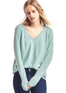 Gap Soft open V-neck sweater