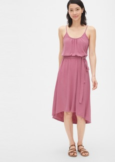Gap Soft Slub Cami Midi Dress