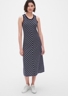 Gap Soft Slub Tank Midi Dress