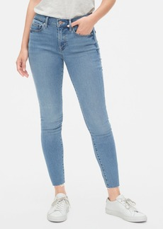 Gap Soft Wear Mid Rise True Skinny Ankle Jeans