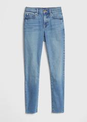 Gap Soft Wear Mid Rise True Skinny Ankle Jeans