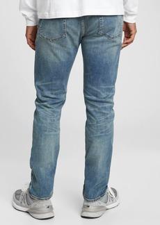 Gap Soft Wear Slim Straight Jeans With Washwell&#153