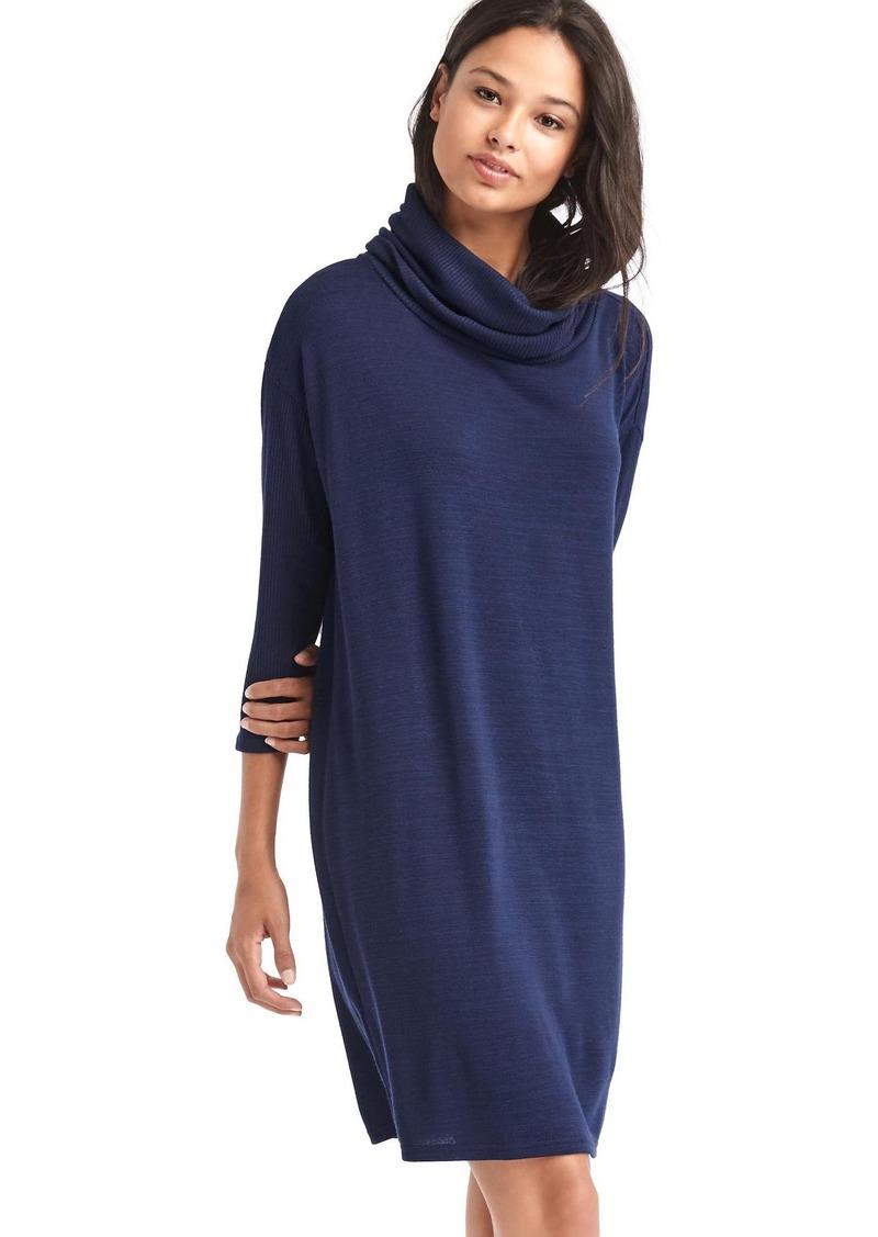 Gap Softspun cowl neck shift dress | Dresses - Shop It To Me