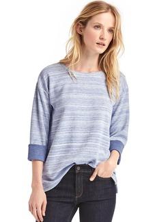 Softspun double-face sweatshirt