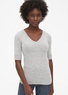 Gap Softspun Elbow-Sleeve T-Shirt