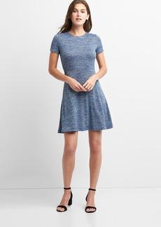 Gap Softspun fit and flare dress