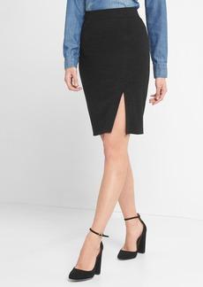 Gap Softspun knit pencil skirt